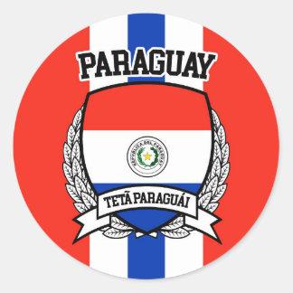 パラグアイ ラウンドシール
