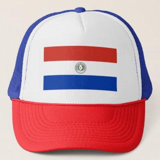 パラグアイ- Bandera deパラグアイの旗 キャップ