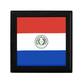 パラグアイ- Bandera deパラグアイの旗 ギフトボックス