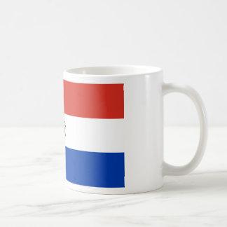 パラグアイ- Bandera deパラグアイの旗 コーヒーマグカップ
