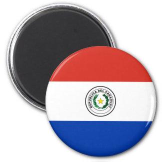 パラグアイ- Bandera deパラグアイの旗 マグネット