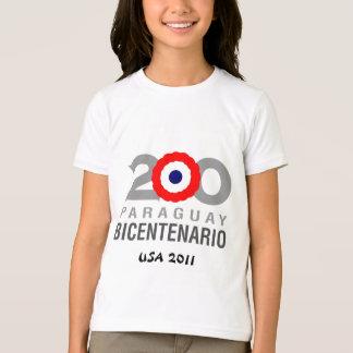 パラグアイBicentenialのTシャツ Tシャツ