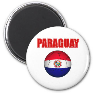 パラグアイFutbolのTシャツ マグネット