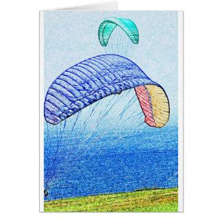 パラグライダーの上昇 カード