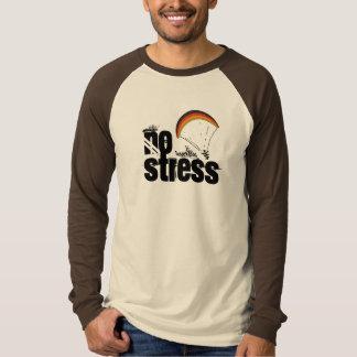 パラグライダー-ストレス無し Tシャツ