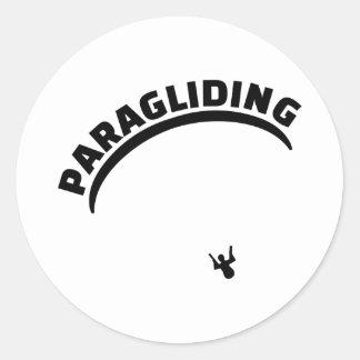 パラグライダー ラウンドシール