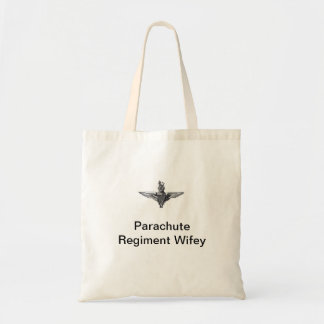 パラシュートの連隊のWifeyのトート トートバッグ