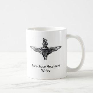 パラシュートの連隊のWifeyのマグ コーヒーマグカップ