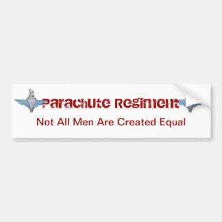 パラシュートの連隊-同輩 バンパーステッカー