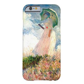"""""""パラソルの遊歩道Monetを持つ女性"""" Barely There iPhone 6 ケース"""