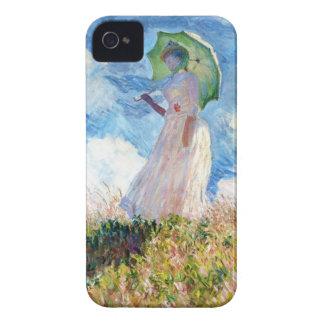 パラソルクロード・モネを持つ女性 Case-Mate iPhone 4 ケース