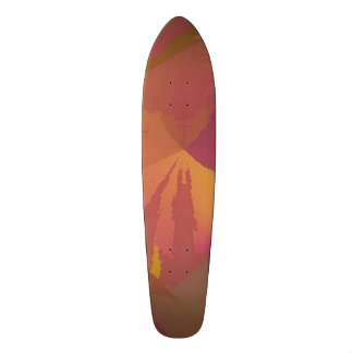 """""""パラドックス""""のデザイン1のワイン/金ゴールドはスケートボードをしません スケートボード"""