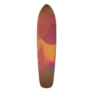 """""""パラドックス""""のデザイン2のワイン/金ゴールドはスケートボードをしません スケートボード"""