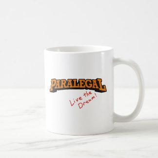 パラリーガルは/住んでいます コーヒーマグカップ