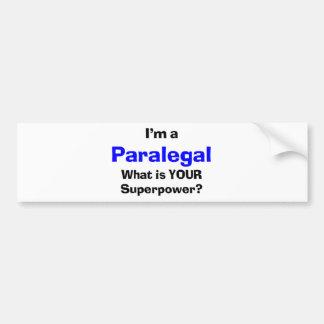 パラリーガル バンパーステッカー
