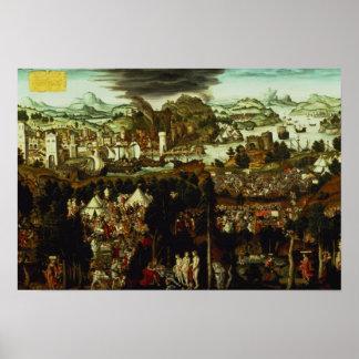 パリおよびトロイ戦争1540年の判断 ポスター