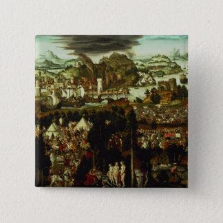 パリおよびトロイ戦争1540年の判断 缶バッジ