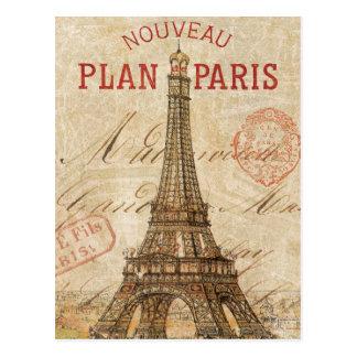 パリからの手紙 ポストカード