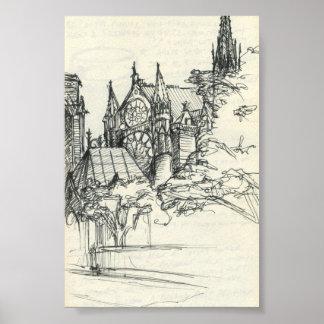 パリで不完全: Notre Dame ポスター