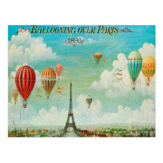 パリに風船のようにふくらむこと ポストカード