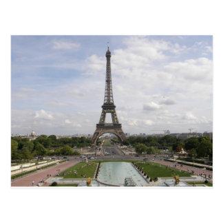 パリのエッフェル塔 ポストカード