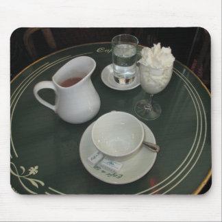パリのカフェのカフェViennois マウスパッド