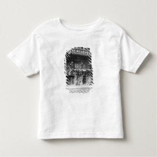 パリのキャバレーde 「l'Enfer」 トドラーTシャツ