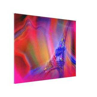パリのキャンバスプリントのプリント キャンバスプリント