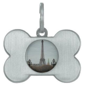 パリのコレクション ペットネームタグ