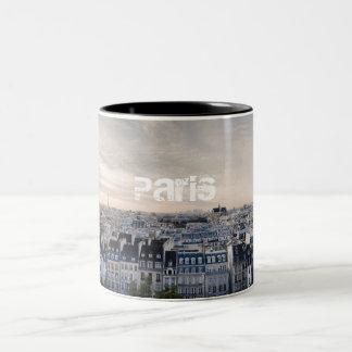 パリのコーヒー ツートーンマグカップ