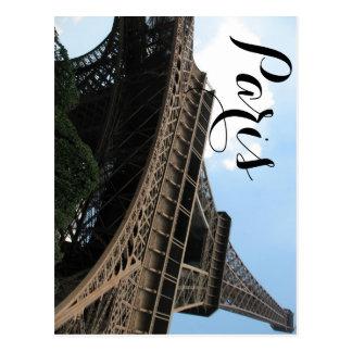 パリのシックなヨーロッパ旅行からのBonjour ポストカード