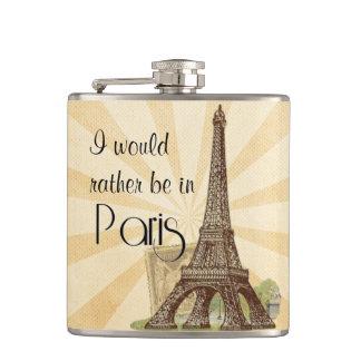 パリのスキットル フラスク