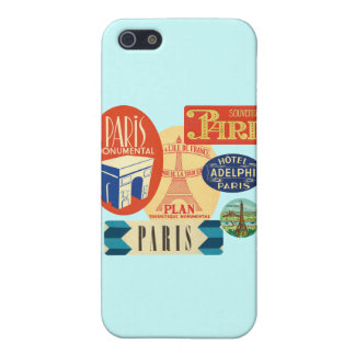 パリのスタンプ iPhone 5 CASE