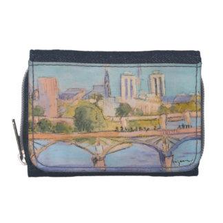 パリのデニムの財布