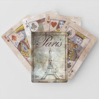 パリのトランプ一組、版権カレンJウィリアムス バイスクルトランプ