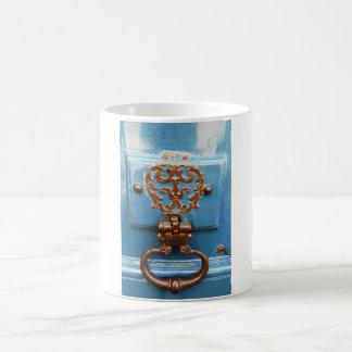 パリのドア コーヒーマグカップ