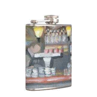 パリのバーのフラスコ フラスク
