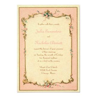 パリのフランスのな香水のラベルの招待状 カード