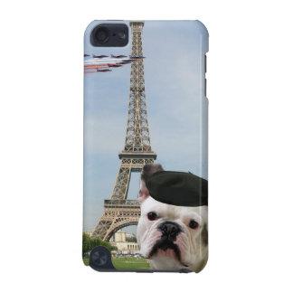 パリのフレンチ・ブルドッグ iPod TOUCH 5G ケース