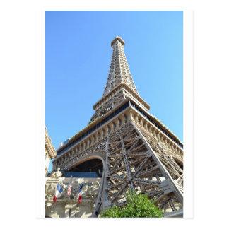 パリのホテル- Lasベガス ポストカード