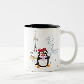 パリのマグのペンギン ツートーンマグカップ