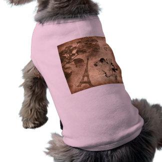 パリのロマンチックなヴィンテージ ペット服
