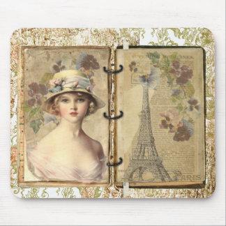 パリのヴィンテージのmousepad マウスパッド