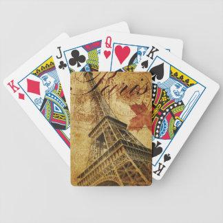 パリのヴィンテージポスター バイスクルトランプ