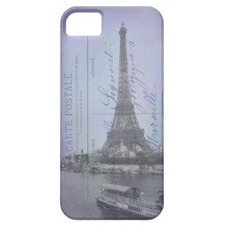 パリの万国博覧会のフランスのな郵便はがきのiPhone 5の場合 iPhone SE/5/5s ケース
