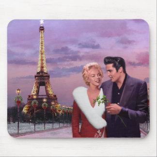 パリの休日 マウスパッド