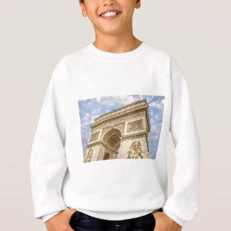 パリの凱旋門 スウェットシャツ