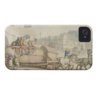 パリの勤勉(紙のペン及びインクおよびw/c) Case-Mate iPhone 4 ケース