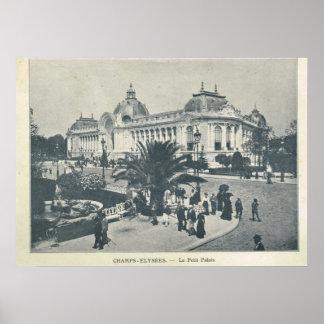パリの博覧会1900年、チャンピオンElyseesとle Grand Palais ポスター