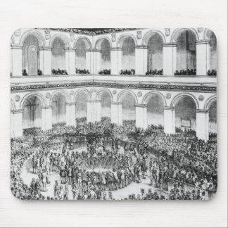 パリの取引所、1846年 マウスパッド